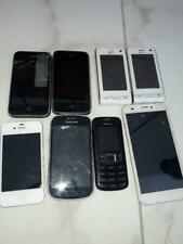 Lot 8 téléphones portables / smartphones 7 HS 1 OK