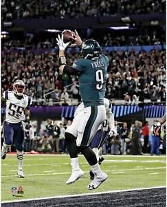 Nick Foles Philadelphia Eagles Unsigned Super Bowl LII Philly Special 8x10 Photo