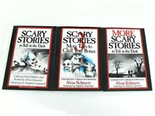 Scary Stories To Tell In The Dark (Set 1,2,3) ORIGINAL Drawings Books Spooky Kid