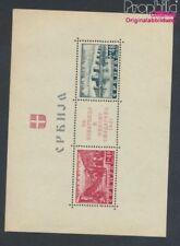 serbie (Allemand.occ.2.wk.) Bloc 1 avec charnière 1941 Samendriahilfe (8910507