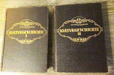 Kulturgeschichte - Werden und Vergehen im Völkerleben, 1907, beide Bände