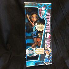 Monster High Robecca Steam Dead Tired NRFB Doll