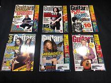 2007 Guitar One Magazine 6 Magazine Lot