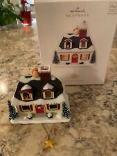 Hallmark Christmas Ornament, Up on the Housetop, Light Music Motion, 2007