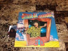 Weird Al Yankovic Rare Authentic Hand Signed Vinyl LP Record IN 3-D + Photo COA