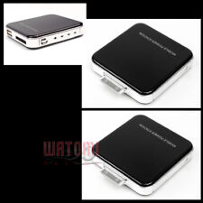2X 2200MAH EXTERNAL BLACK BATTERY BACKUP CHARGER USB IPHONE 4S 4 3GS IPOD TOUCH