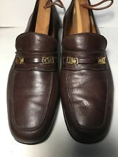 Authentic Arbiter Brown Soft Leather Hand Crafted SZ 8.5 Italy Men's Shoe