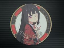 Kakegurui Animation memorial Promo Limited Paper coaster Yumeko Jabami Japan