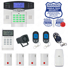 Wireless Burglar Alarm System Phone Line Auto Dialer US Home House Smart PSTN HB
