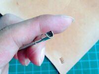 Stainless Steel  leather craft U STYLE Stamp Tool workshop DIY