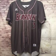 Bearden Sports Jersey Men's Large Russell Athletic Button Up #13 Baseball