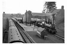 bb0506 - Brackley Central Railway Station , Buckinghamshire in 1961 - photograph