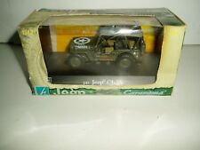 CARARAMA  JEEP WILLY'S CJ-2A  SCALE1:43 NEW OLD STOCK ITEM