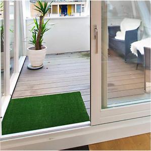 2X3 ft Green Grass Indoor Outdoor Economy Turf Artificial Grass Area Rug