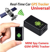 MINI Spy Camera GPS GSM GPRS Tracker Listen Device Vehicle Auto Voice Activated