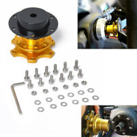 Universal Car Auto Steering Wheel Quick Release Hub Adapter Snap Off Boss Kit
