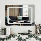 """27.5"""" LED Wall Mounted Mirror Bathroom Mirror Dimmable Smart Touch Control Light"""