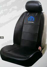 Mopar logo truck car sideless embroidered seat cover vinyl chrysler dodge ram rt