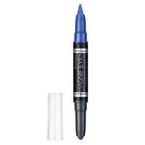 Rimmel eyeshadow Magnif'eyes Shadow And Liner 004 Dark side of blue