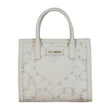 f504dd16a7a4d Love Moschino White DESIGNER Heart Detail Tote Bag