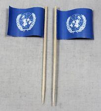 Party-Picker UNO United Nation 50 Stk. Dekopicker Papierfähnchen Käsepicker Food