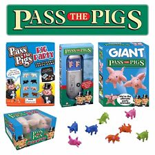 Pass The Pigs  - Pocket, Party, Big and Giant - Try your luck using pigs as dice