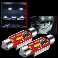 2X 36mm Festoon LED Bulb C5W CANBUS 1860 SMD White Car Interior Dome Map Light L