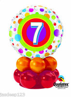 6th-13th Boys and Girls Birthday Balloon Table Display Party Centrepiece