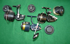 3 Mitchell reels 410 300 & 206 & spools match spinning salmon pike perch