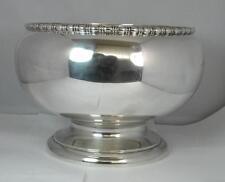 Huge 1923 Solid Silver Fruit / Punch Bowl 900 Grams 30 OZ