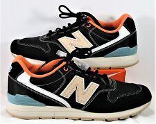 New Balance Men's 996 RevLite Black & Coral Running Shoes Sz 7.5 NEW MRL996GG