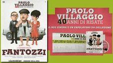 OPERA COMPLETA IN 40 DVD PAOLO VILLAGGIO 40 ANNI DI RISATE FANTOZZI FILM