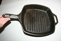 Lodge USA SGP 10 Inch. Cast Iron Skillet Frying Pan With Assist Handle