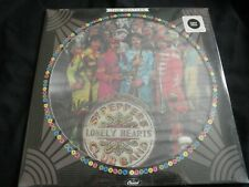 BEATLES SGT. PEPPER'S LONELY HEARTS SEALED Picture Disc Rare Sealed Vinyl LP