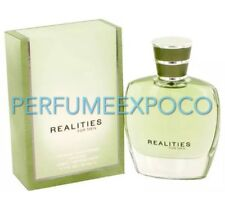 REALITIES for MEN Cologne 1.7oz-50ml EDT NEW & SEALED Spray DISCONTINUED (BL02