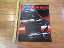 OMC Cobra Boat Motors Vintage Boats Dealer sales brochure catalog