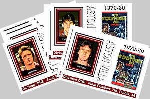 ASTON VILLA - 1979/80  SERIES 2 - COLLECTORS POSTCARD SET