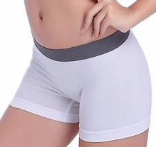 Women vintage Sports Gym Workout Elegant Slim Fit Waistband Shorts Pants US