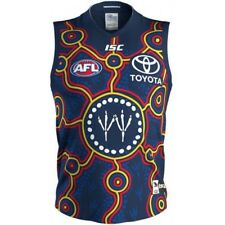 Adelaide Crows 2018 Indigenous Guernsey Sizes Large - 3XL Navy/Red/Gold AFL ISC