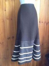 Silk Blend Formal Maxi Skirts for Women