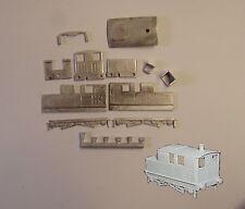 P&D Marsh N Gauge N Scale A151 Sentinel Shunter loco kit requires painting