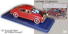 La Lancia de l'italien de l'Affaire Tournesol. #26. Tintin transports. Atlas.