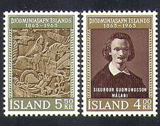 Islande 1963 musée national/Cheval/sculpture/arts/personnes 2 V Set (n37163)