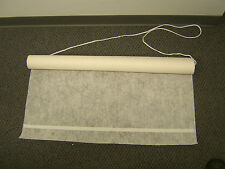 Aisle Runner Ivory 75' floral print fabric w/adh & rope