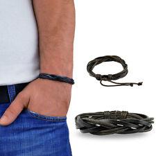 Mens Leather Bracelet Bracelet Surfer Bracelet Leather menq M62