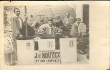 64 EAUX-BONNES CARTE POSTALE PHOTO JACKY NOUYEZ ACCORDEON ACCORDEONISTE 1946