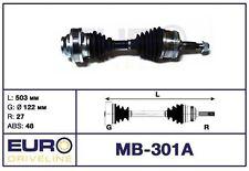 Propulsion vague articulaires vague Mercedes-Benz vito (638) 108 CDI 110 CDI 112 CDI NEUF