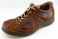 ECCO Yak Shoes Size 41 M Brown Sneaker Leather Men