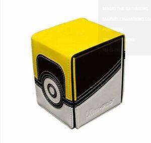 Ultra Pro Pokemon Ultra Ball Alcove Flip Magnetic Deck Box - Ships Same Day