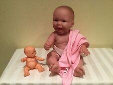 Newborn Berenguer Baby, All Soft Vinyl, 12 Inches, Play Or Reborn, Euc